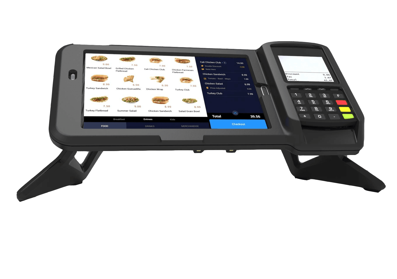 Samsung Tablet with Payment